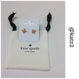 Kate Spade ♠️It's a Tie Bow Studs